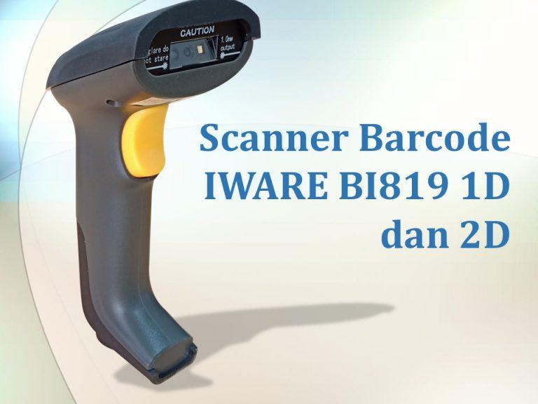 Scanner Barcode IWARE BI819 1D dan 2D